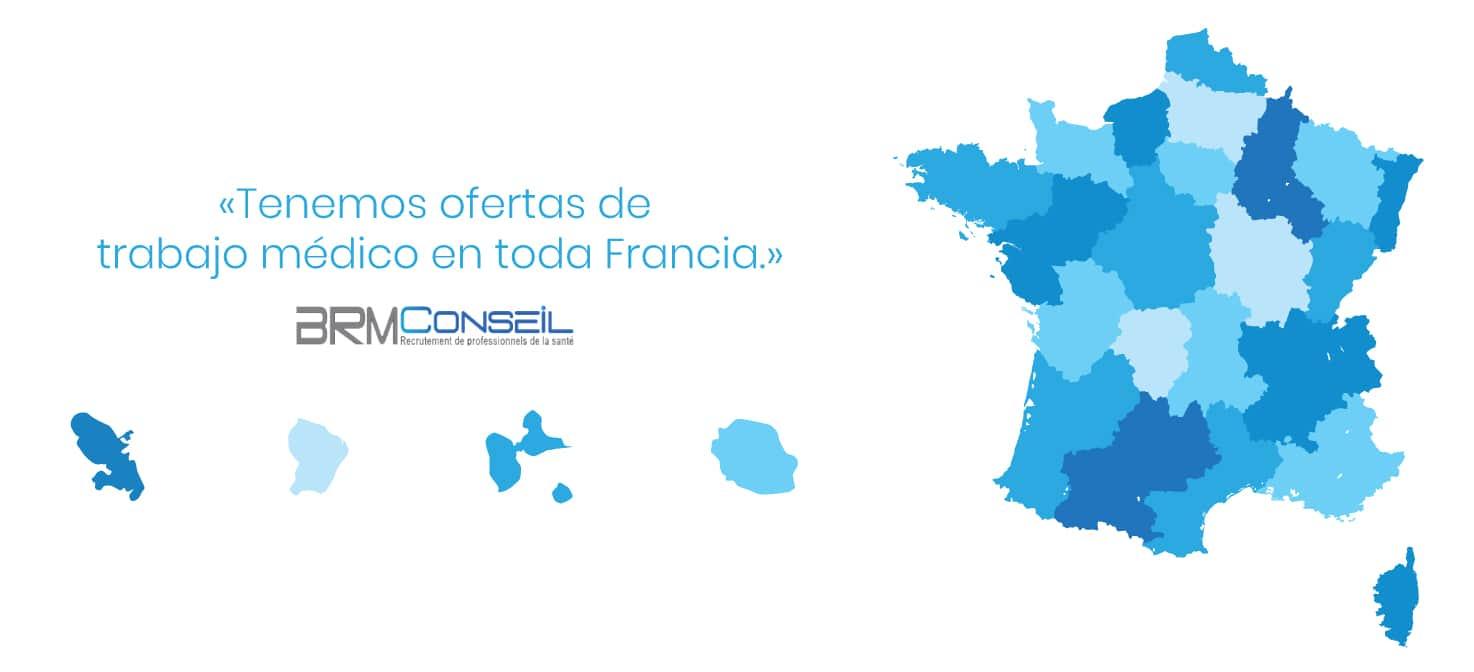 BRM Conseil está presente en toda Francia y en los departamentos y territorios franceses de ultramar