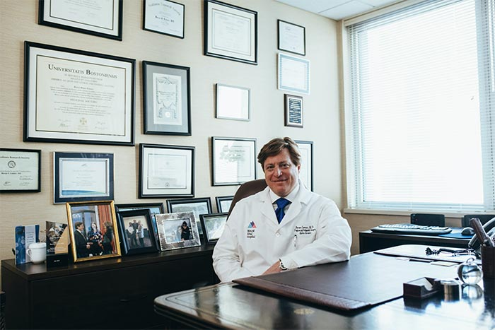 The geriatrician is a doctor who specializes in the treatment of the elderly.